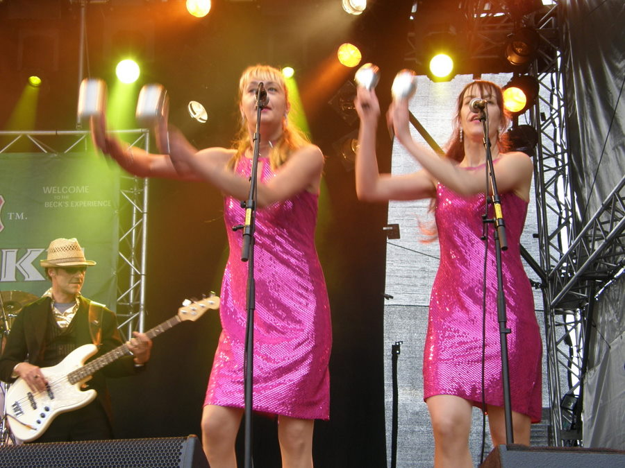 El Sweat & his Sweatpearls beim Hafen Rock 2007 | &copy Michael Spangenberg